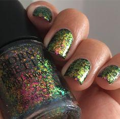 Born Pretty Store Chameleon Nail Polish Violet Galaxy M010