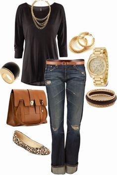 Perfect, love everything about this! Casual Outfits | Classy Shirts