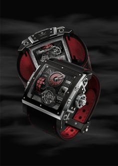 HD3 Complication Black Pearl Watch