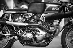 pinterest.com/fra411 #classic #motorbike #norton