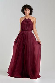 Bea Skirt in Burgundy