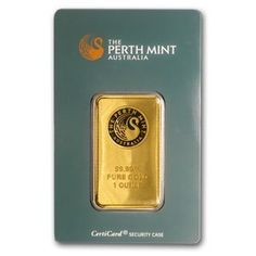 Perth Mint Kangaroo gold bars are minted from pure gold and available in 5 gram, 10 gram, 20 gram , 1 ounce and 10 ounce sizes. Gold Bullion Bars, Silver Bullion, Mint Coins, Gold Coins, Today Gold Price, Silver Investing, Mint Gold, Silver Eagles, Sell Gold