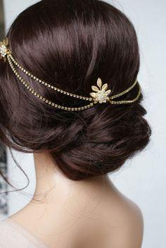 Hair Jewelry Korean Accesorios Para El Pelo Metal Pin Hair Clip Girls Vintage Gold Hairpin Princess Women Hair Accessories Wedding Headband Clear-Cut Texture