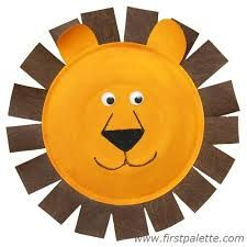 Image result for paper plate mask template animal