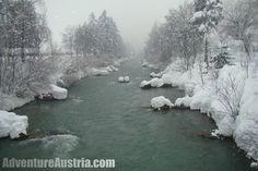 Winter in Lienz - River Drau Chios, Austria, British, African, Adventure, Winter, Outdoor, Winter Time, Outdoors