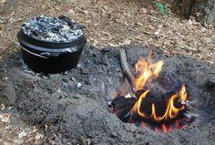 dutch-oven-apilar-horno-holandés-cocina-campista-campfire-cooking-receta-camping2 fuego aparte