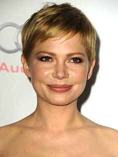 Michelle Williams at the 2012 AFI Fest #ShortHair #MichelleWilliams