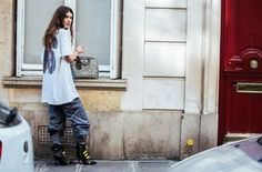 Paris Fashion Week Street Style Styling Tricks | British Vogue