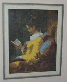 La liseuse (The Reader) *Jean-Honoré Fragonard Hecho en 2014