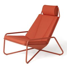 Dutch designer Arian Brekveld based the design of this lounge chair on the shapes of seats in cars.