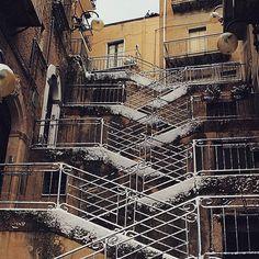 Leonforte-Scalinata in piazza Margherita