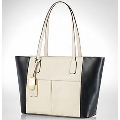 Ralph Lauren - Tote - Black and Ivory - 30% DISCOUNT - $159.60