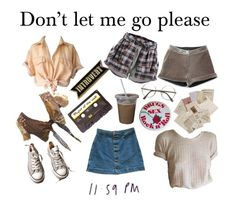 """""""Untitled #15"""" by avloona ❤ liked on Polyvore featuring American Apparel, Converse and ZeroUV"""
