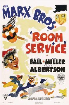 Room Service - designed by Al Hirschfield