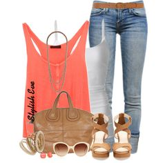 Spring Cuffed Jeans