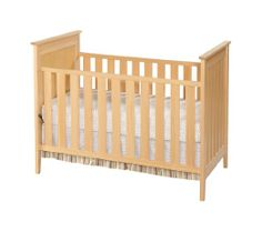 Amazon.com: Simmons Kids Furniture Melody 3 in 1 Crib, Natural: Baby