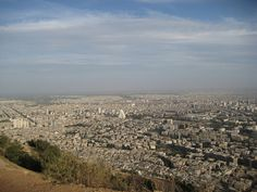 View from Kassioun Mountain~~city of Damascus, Syria