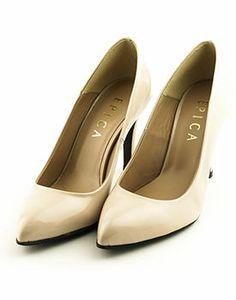 Pantofi eleganti de dama cu toc inalt Ivory Pearl, Wedge Heels, Wedding Shoes, White Lace, Loafers, Slip On, Wedges, Flats, Sport