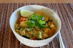 Vegetable and Chick Pea Curry
