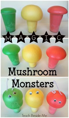 Magic Growing Mushroom Monsters