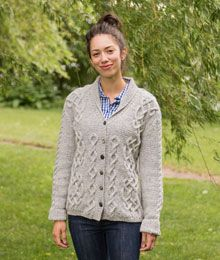 Wickford by Alison Green, knit in Berroco Tuscan Tweed