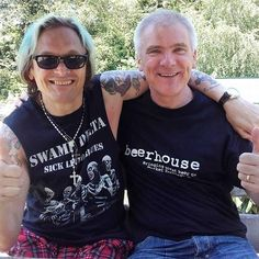Screaming Delta Anderson and Martin Mandown Marshall. #swampdelta #crazyhead #gayebykersonacid #sickliverblues http://ift.tt/21NVwts