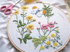 A little embroidery!