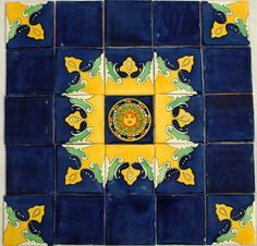 Mexican Talavera Tiles Ceramic Tiles