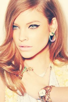 """Winged tip eyeliner or the """"cat eye"""" was made famous by 1960s icons like Brigitte Bardot."""