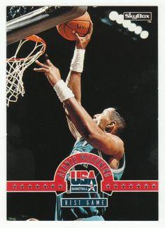 Alonzo Mourning # 3 - 1994 SkyBox USA Basketball