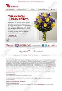 creative email design ideas for Mother Day, see millions of real email campaigns from top brands around the world at www.inboxvision.com Web Design, Email Design, Design Ideas, Newsletter Example, Loyalty Marketing, Gourmet Gifts, Mom Day, Email Campaign, Inspirational