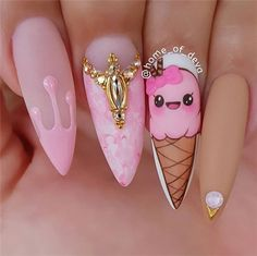 """""""your success is our reward"""" – Ugly Duckling Nails Inc., """"your success is our reward"""" – Ugly Duckling Nails Inc. Cute Summer Nail Designs, Cute Summer Nails, Cute Nails, My Nails, Smart Nails, Crazy Nails, Fall Nails, Holiday Nails, Nails Inc"""