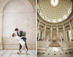 Skip the chapel and say your nuptials in Dublin's City Hall.