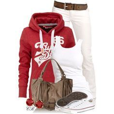 hoodie casual outfit
