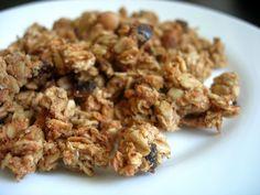 Healthy Lifestyle By Me: Arašídová granola