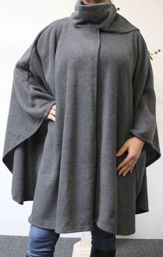 Ultimate Travelers Full Size Plus Size Poncho by Dare2bStylish, $35.00