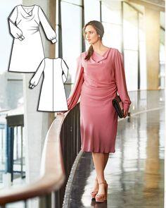 Dress Burda plus  3/15 136