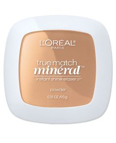 Flawless Finish: The Best Products For a Makeup-Free Look - L'Oreal True Match Mineral Pressed Powder from #InStyle