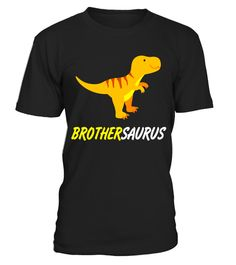 Brothersaurus | Cute And Sweet Brother Family Dino T-Shirt