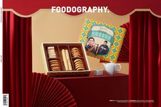 Food and drink | 渔村手信 ✖ foodography on Behance Chinese New Year Design, Food And Drink, Drinks, Behance, Traditional, Style, Drinking, Swag, Beverages