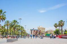 Barcelone barceloneta Gaudi, Street View, Advertising, Architecture, Shopping, Visit Prague, Spain, Landscape, Travel
