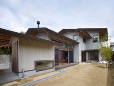 House Under Four Roofs | Kyoto, Japan | Haretoke Architects
