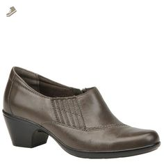 eb43ca3c359 Clarks Women s Ingalls Congo Slip-On - 6 M - Grey - Clarks flats for