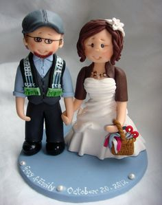 Personalized Traditional Cake Toppers For Wedding
