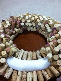 How to Make a Wine Cork Wreath