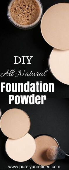 DIY All-Natural Foundation Powder | Natural Make-Up | Clean Beauty Products