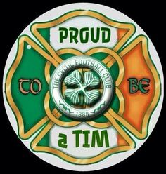 Proud to be a Tim 🍀 Football Tattoo, Football Team, Celtic Fc Tattoo, Celtic Soccer, Glasgow Green, Phone Screen Wallpaper, European Cup, Glasgow Scotland, Sports Wallpapers