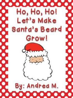 This is a fun way to count down to Christmas with your kiddos!Just print Santa (color or black & white) and hang him in the room.  On December 1st, glue a cotton ball on the number 1.  Each day, add a cotton ball until you get to Christmas day!  Kids can take a copy home to count down the days  with their families!