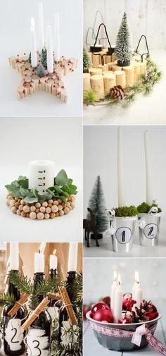 we love Inspiration: Adventskränze mal anders - we love handmade Merry Christmas, Christmas Wall Art, Christmas Diy, Diy Inspiration, Interior Inspiration, Our Love, Advent, Diys, Zero