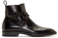 Kenzo Black Leather Gorillaz Boots
